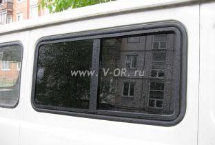 Сдвижные стекла УАЗ 452 Буханка тонированные с  карбоном.jpg