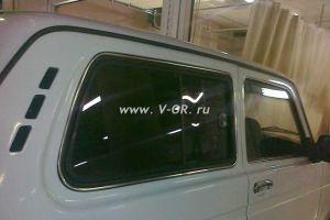 Раздвижное окно боковины задка Лада Нива 2121 Правое