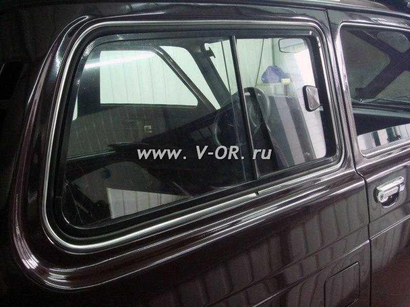 Раздвижное окно Нива из российских комплектующих